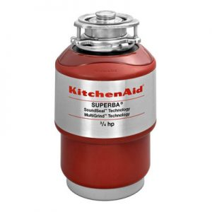 KitchenAid Continuous Feed Garbage Disposal 3-4 HP