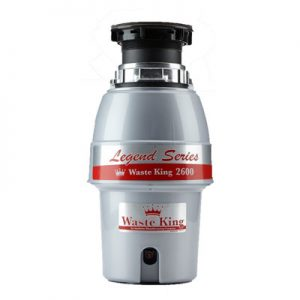 Waste King Legend Series 1-2 HP Continuous Feed Garbage Disposal L-2600