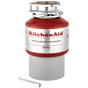 best Kitchenaid KCDI075B food waste disposer
